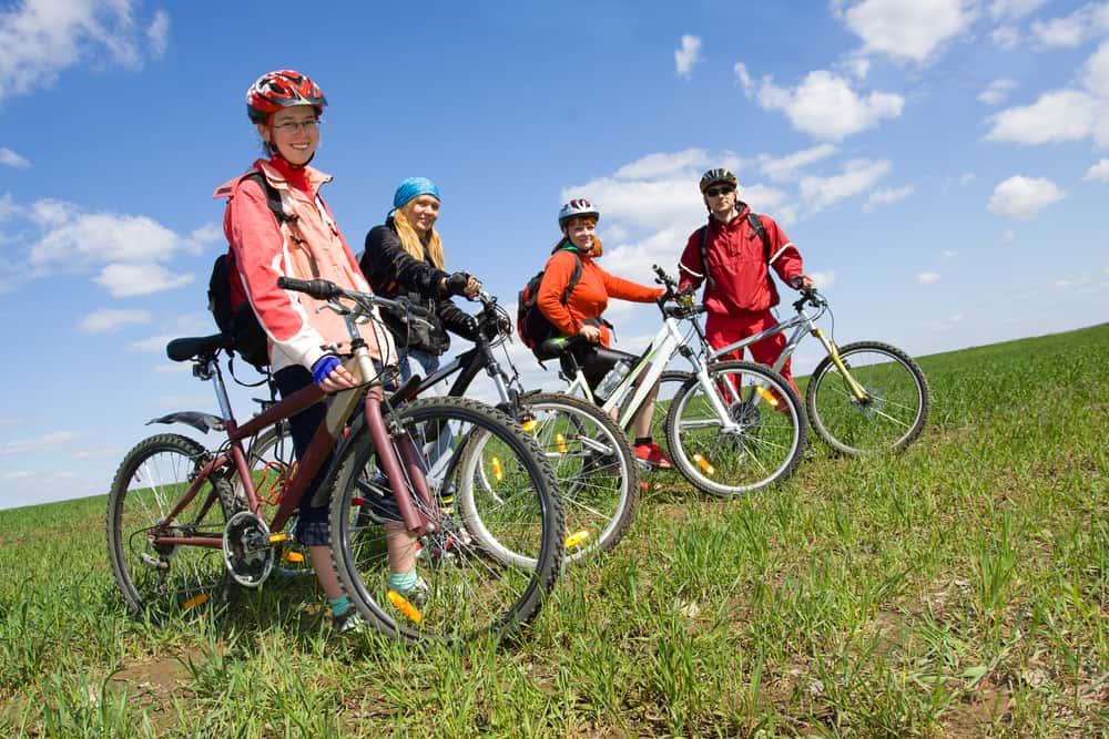 Biking Icefields Parkway