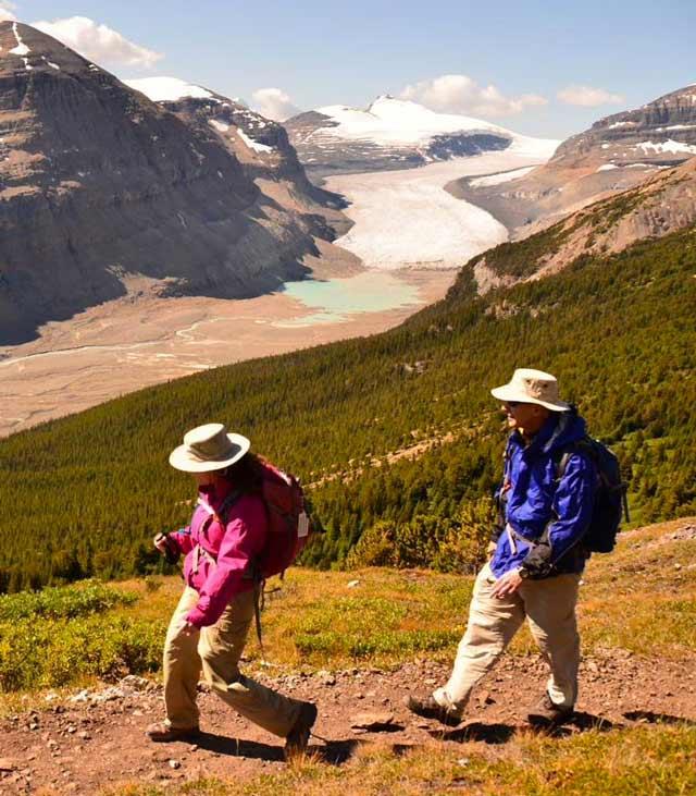 Alberta Couple Hiking