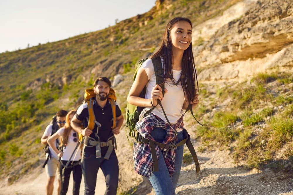 Mountain hiking tours